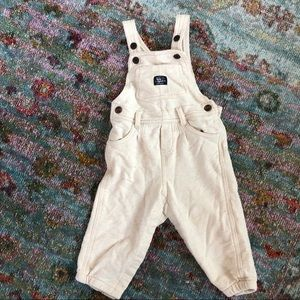 Soft Oatmeal Colored Overalls
